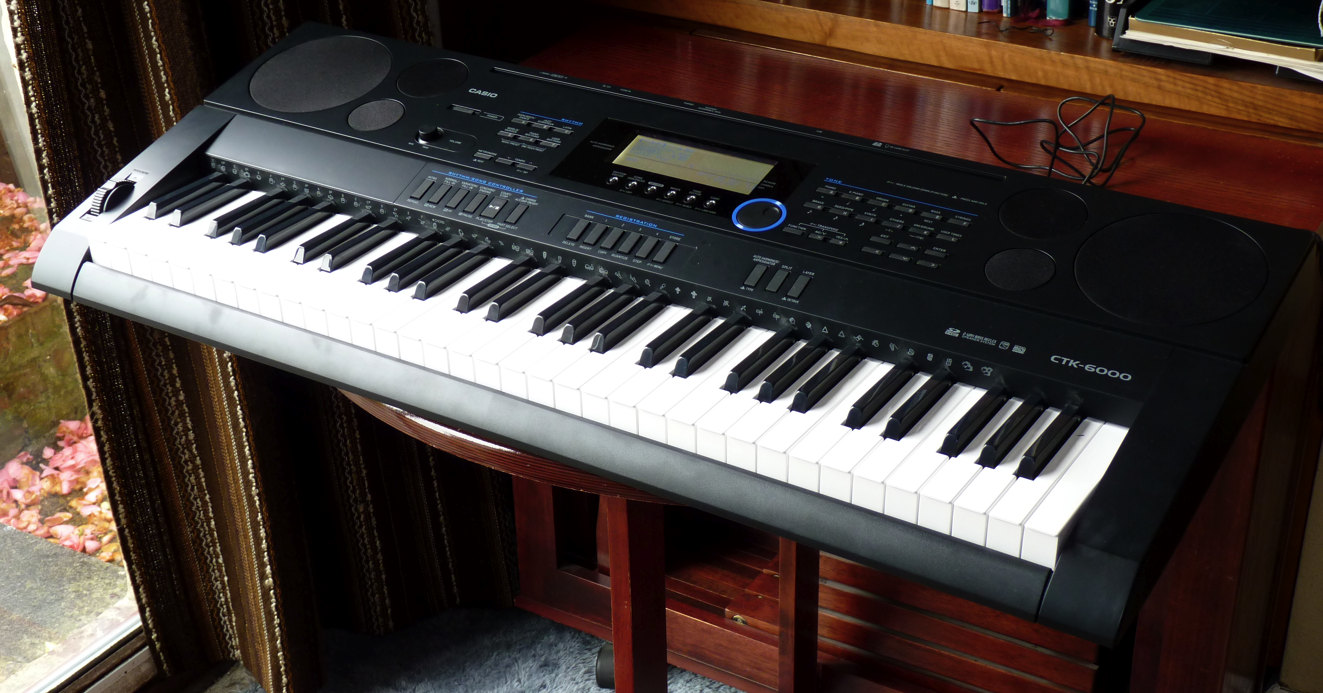 keyboard with notes