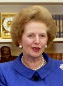 Margaret Thatcher (US visit 1990)